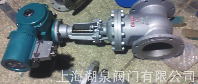 电动法兰闸阀Z941F46-25丨PN25电动衬氟闸阀