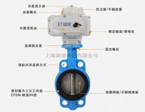 D971X-16电动对夹蝶阀
