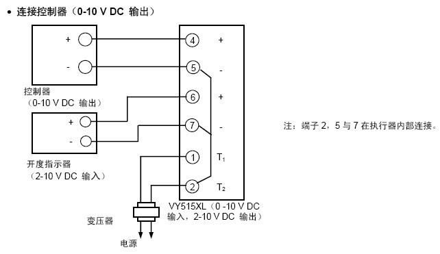 电动调节阀工作原理及接线图图片